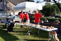 La Gergovienne : poste de ravitaillement à Bessat (Vernines)